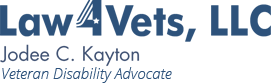 Law4Vets, LLC, Jodee C. Kayton, Veterans Law Attorney